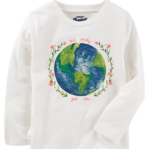 Baby Girl Long Sleeve Graphic Tee